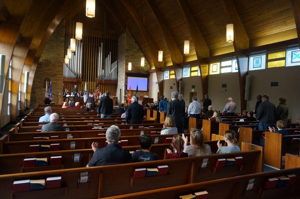 Worship Vet day service 12