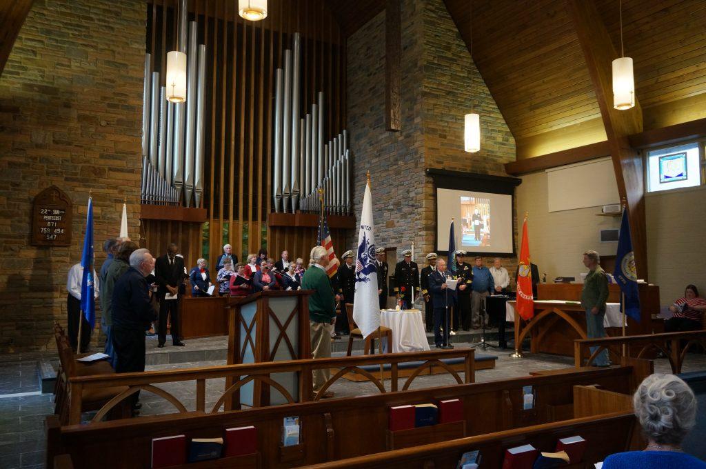 Worship Vet day service 6