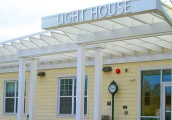 Picture of the outside of the Light House Shelter building